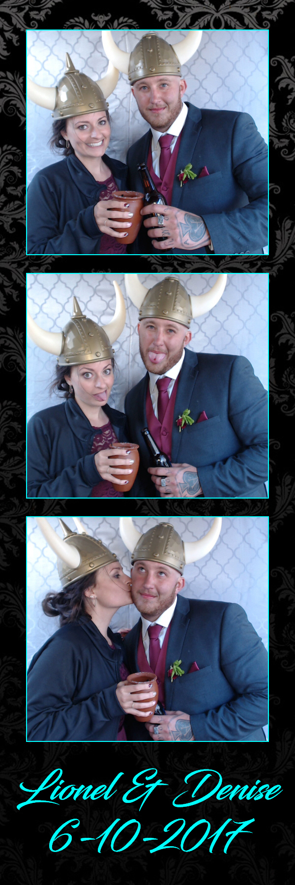 Art of the Party DJs photo booth los angeles lionel denise